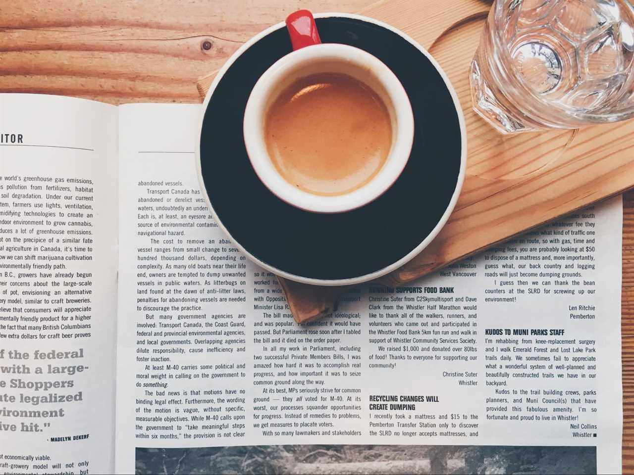 Restaurant marketing in the newspaper