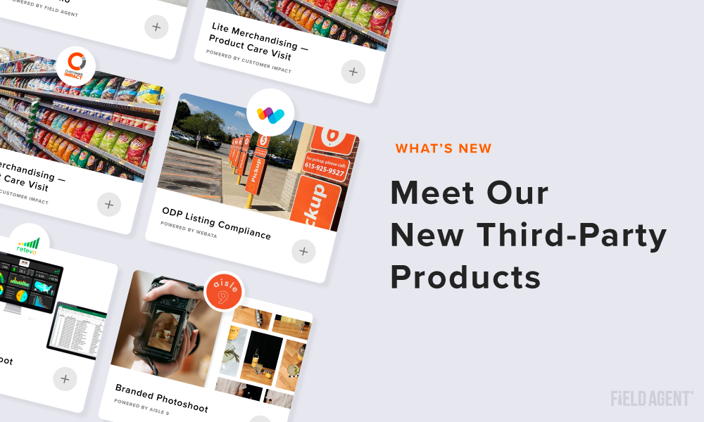 Meet Our New 3rd-Party Products: Photography, Merchandising, & More
