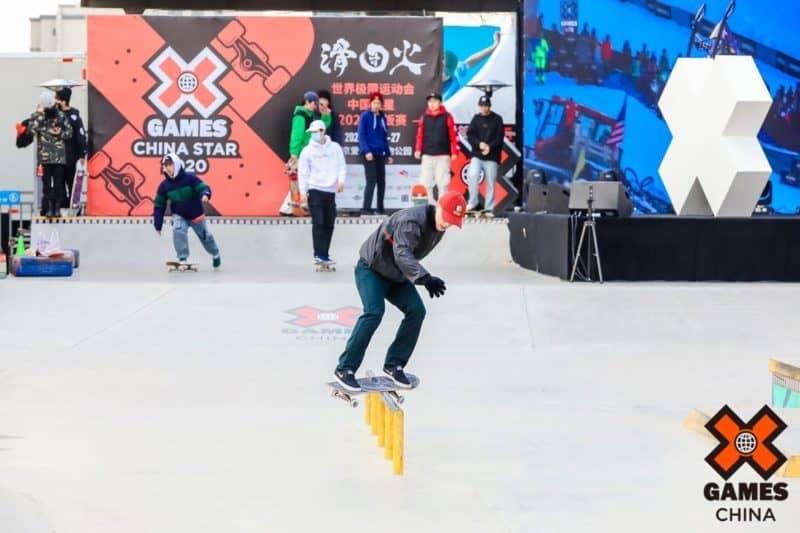 X games China 2020 in Beijing skateboarding in China