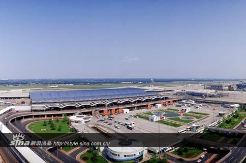 Beijing International Airport Terminal 2, 1990 air travel in China