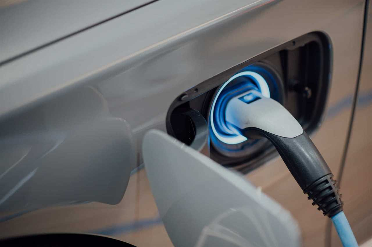 image of electric car charger