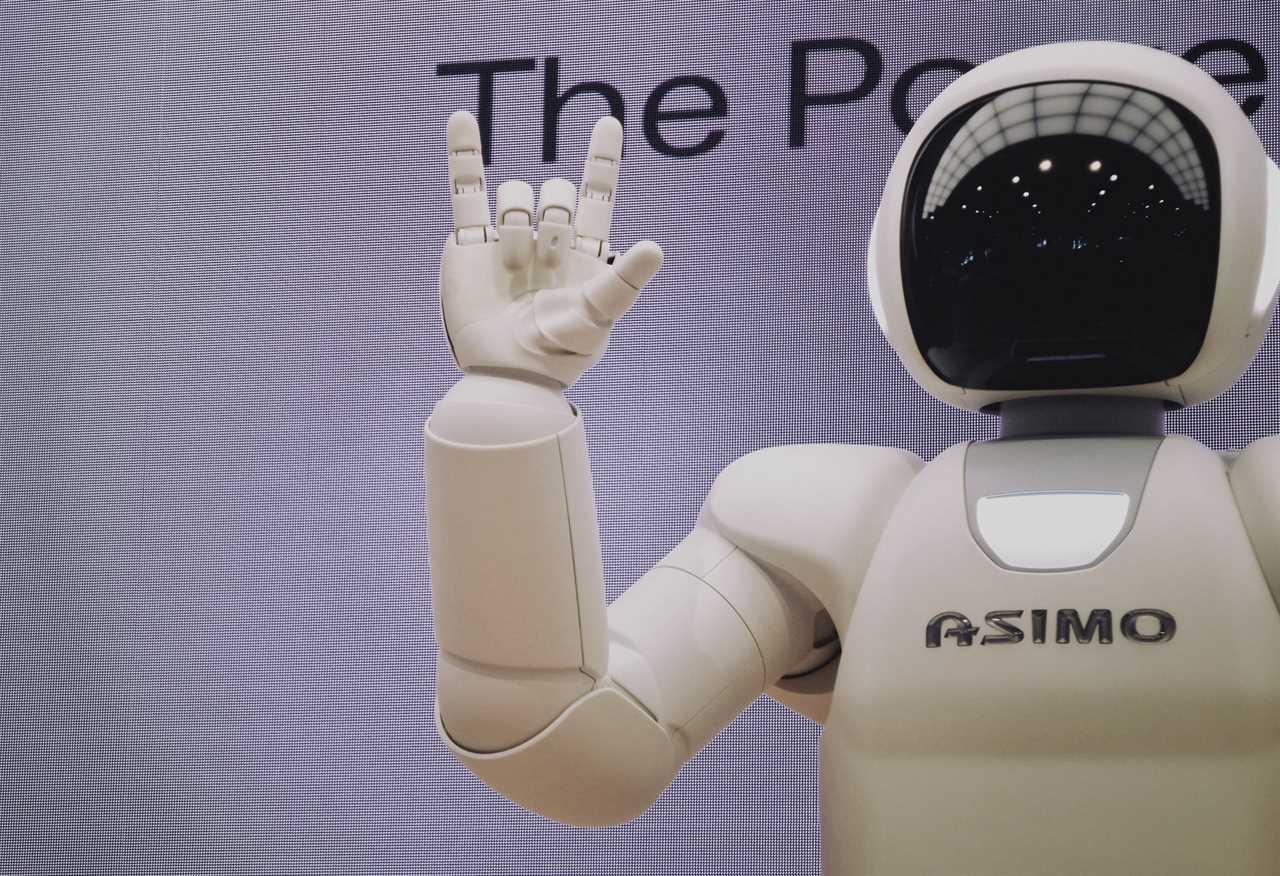image of Asimo robot