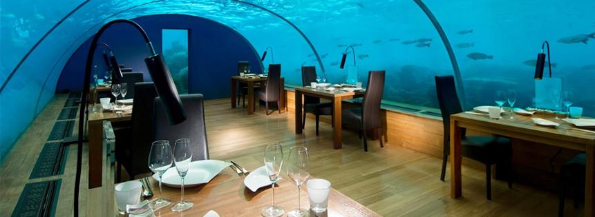 Restaurant in Rangali Island
